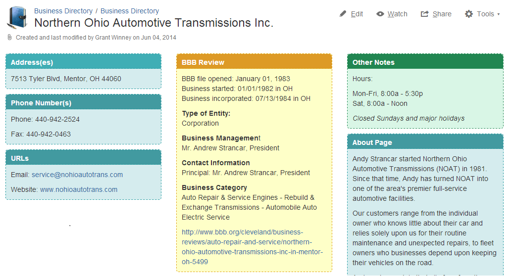 2014_09_04_07_08_51_Northern_Ohio_Automotive_Transmissions_Inc._Business_Directory_Confluence