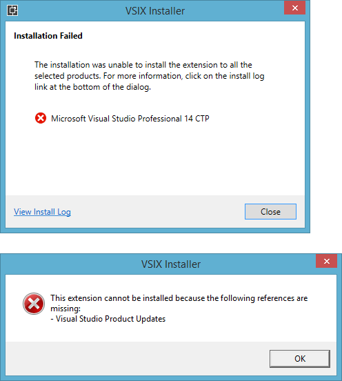 VS14ExtensionFailed2