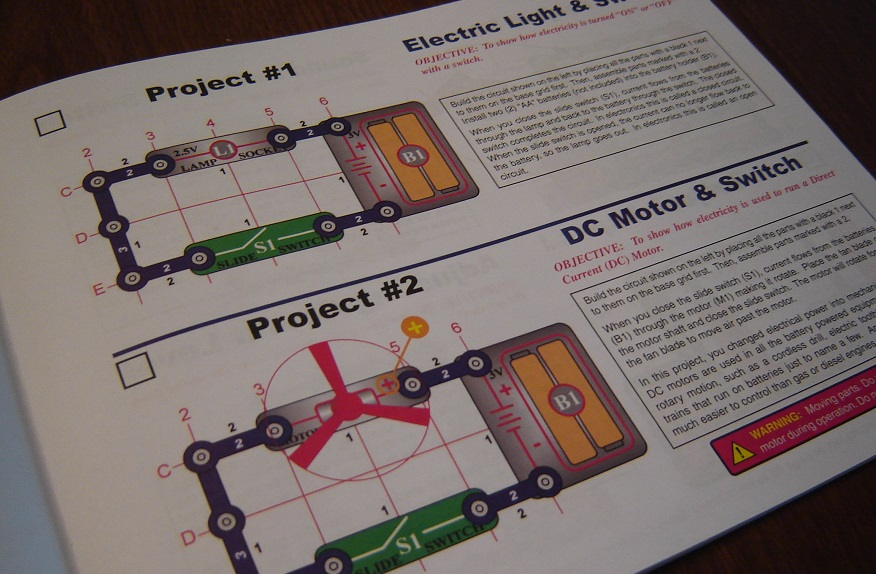 snap circuits jr first go