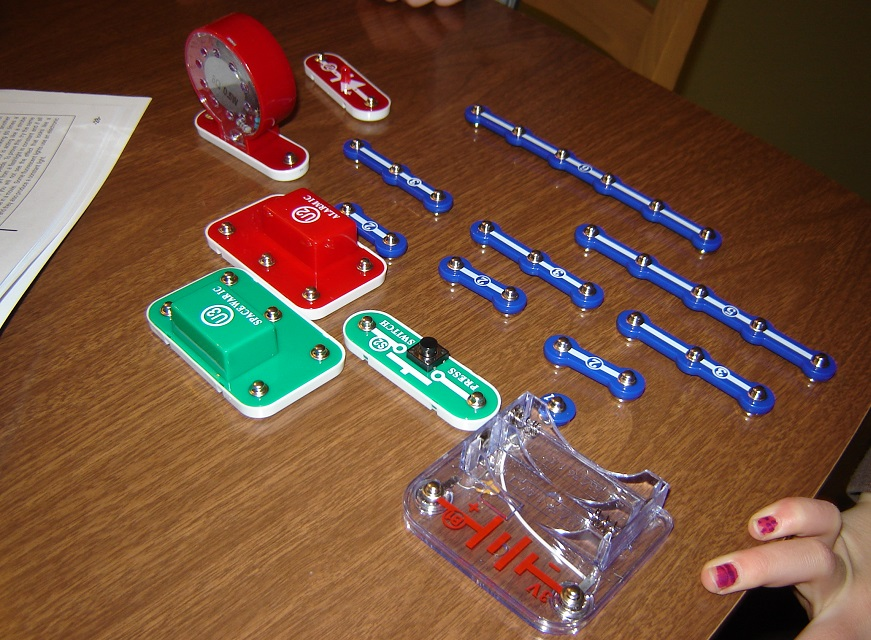 snap circuits jr laser 1