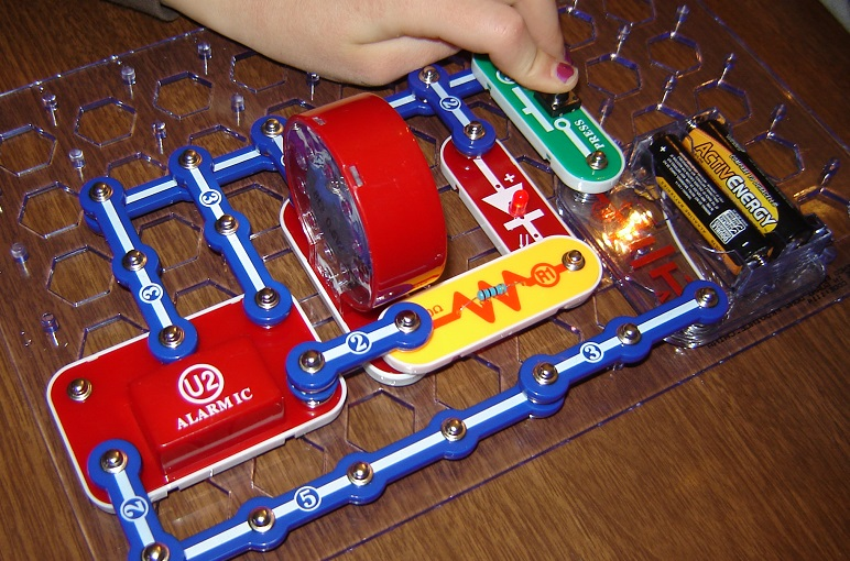 snap circuits jr laser 3