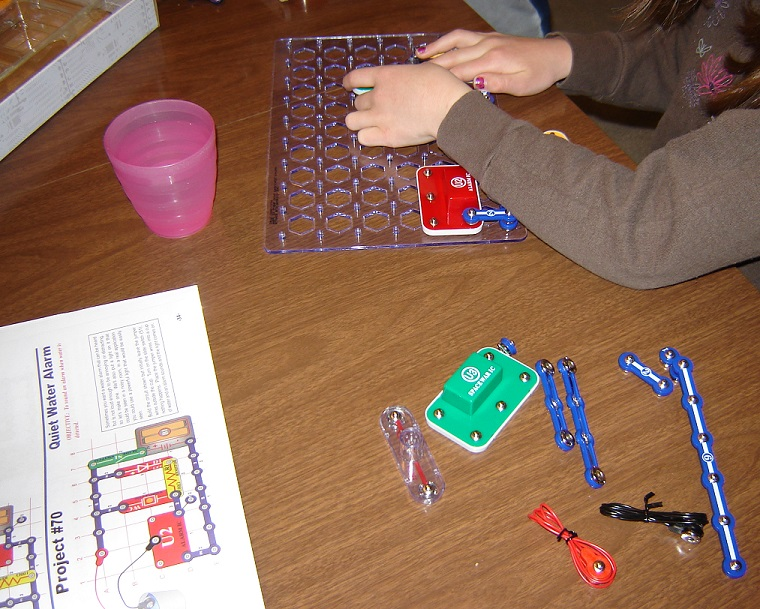 snap circuits water 1