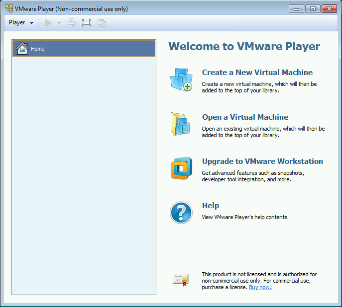 Windows 10 VMware Setup 001