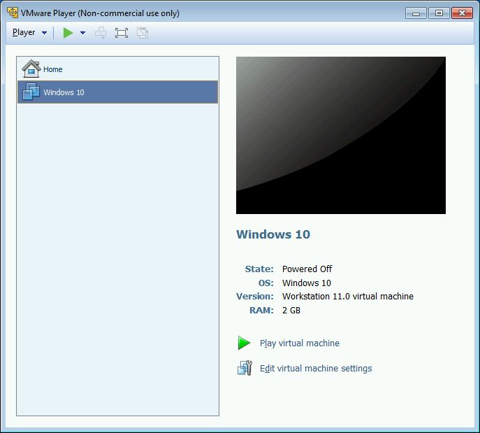 Windows 10 VMware Setup 009