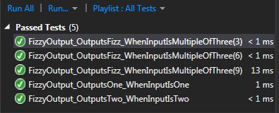 fizzbuzz test passed 1