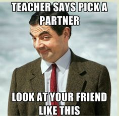 mr bean pick a partner