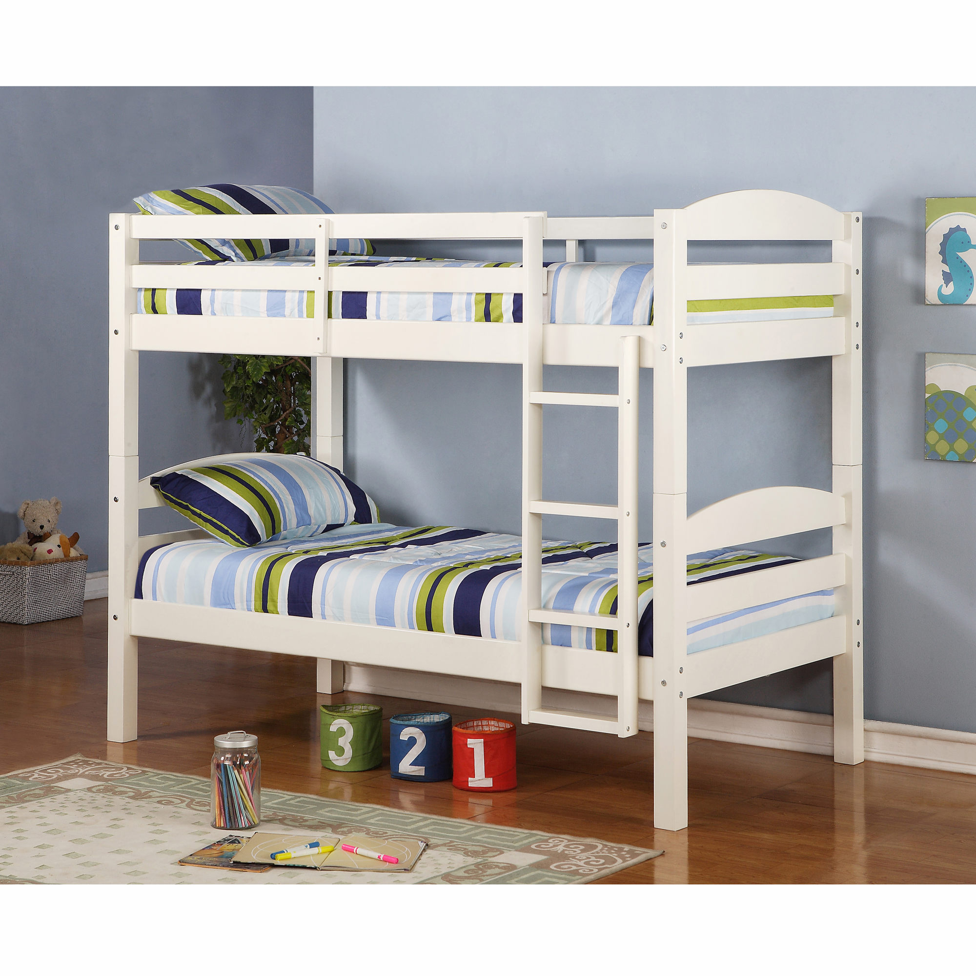 how (and why) i built my kids a bunk bed instead of buying one