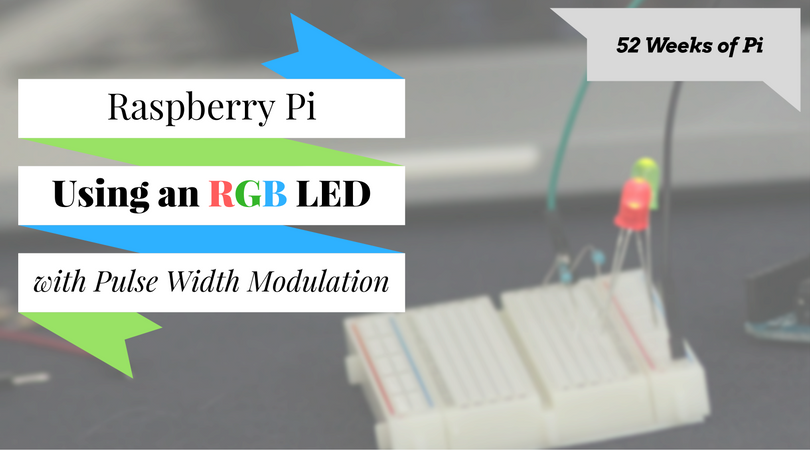 How to Use an RGB multicolor LED with Pulse Width Modulation (PWM) on the Raspberry Pi