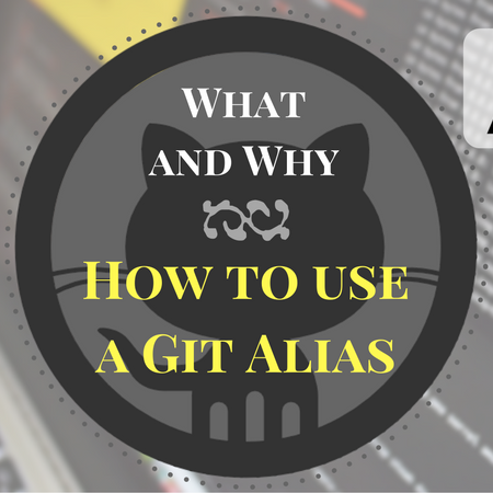 What is a Git alias, and how do I use it?