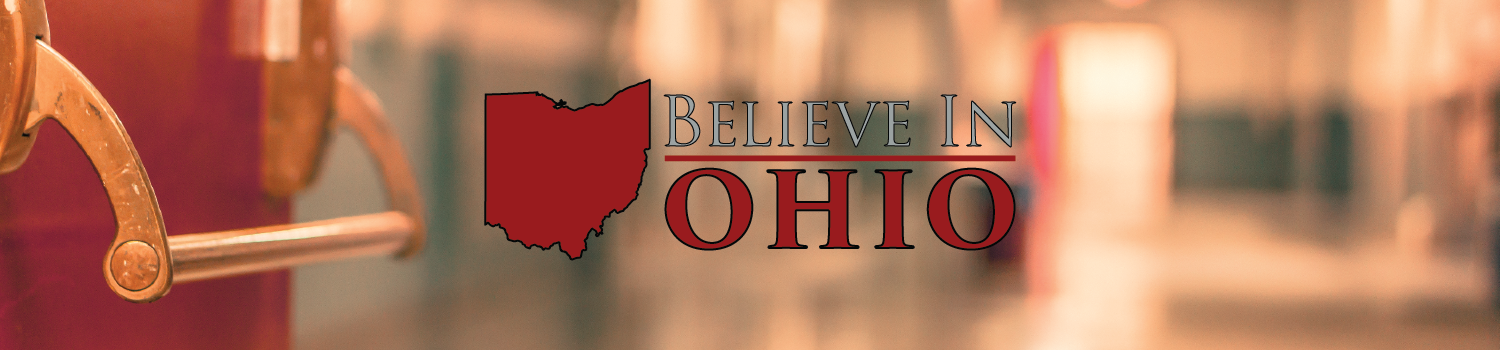 "Being a judge for the first ""Believe in Ohio"" competition"