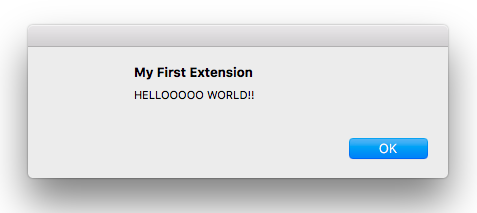 Making Your First Chrome Extension