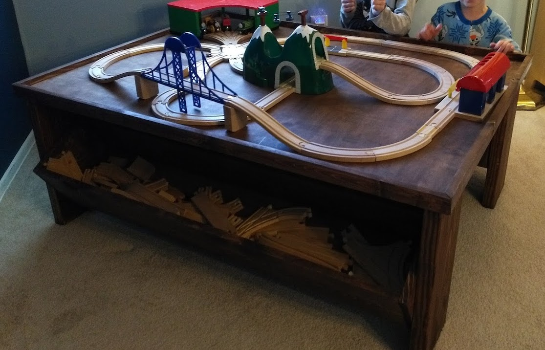 Building a train table, and other non-dev pursuits