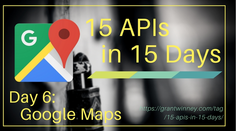 Accessing directions, timezones, coordinates and more with the Google Maps API
