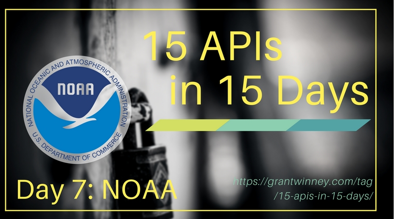 Access climate data and station info with the NOAA API