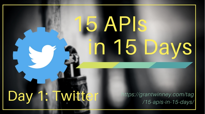 Accessing tweets, friends, lists, and more with the Twitter API