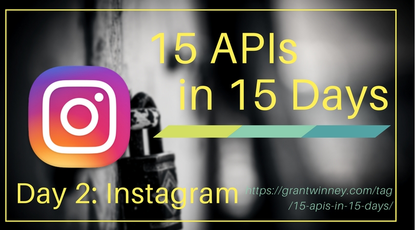 Access your profile, photos, likes and more with the Instagram API