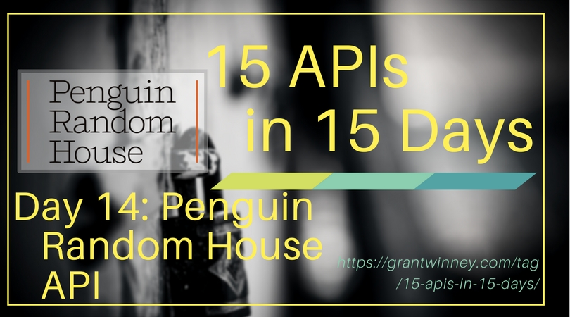 Accessing book and author data with the Penguin Random House API