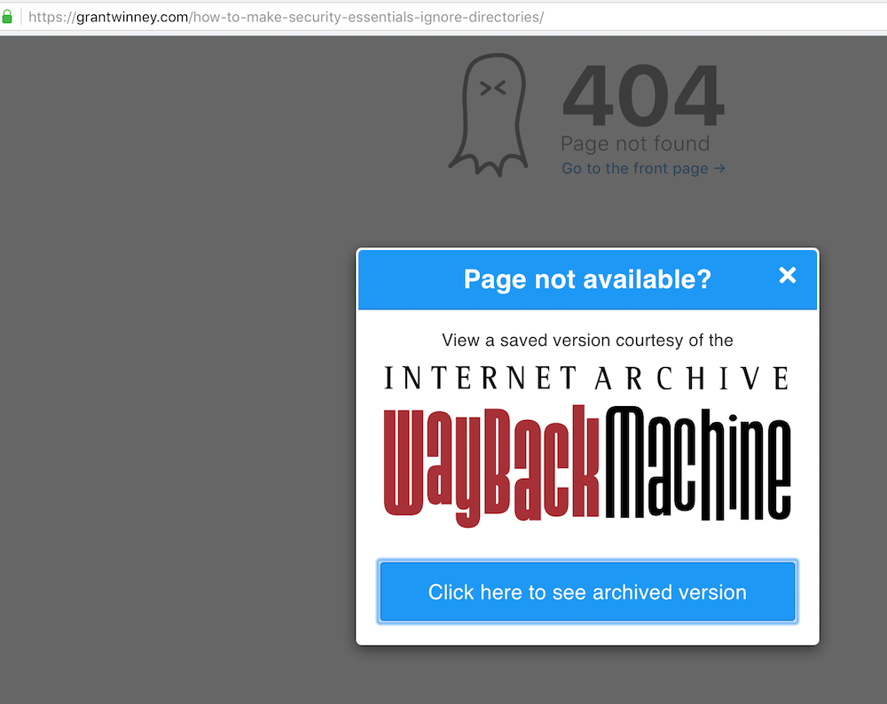 wayback-machine-extension