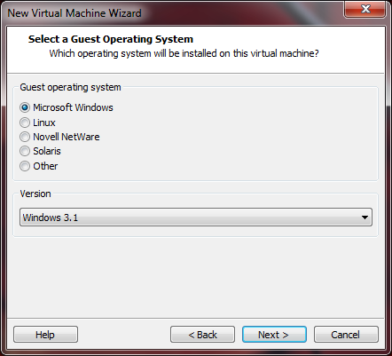 Installing DOS 6 22 in VMware Player