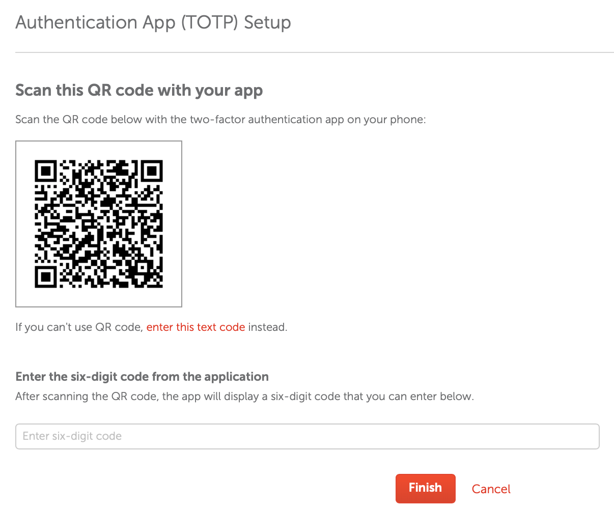 How to create a TOTP 2FA code for your app